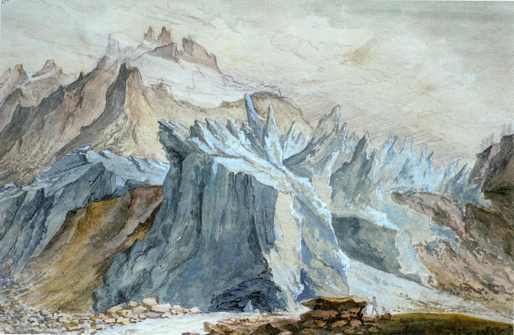 A 2,22 Wolf, Front des Unteren Grindelwaldgletschers, ETHZ